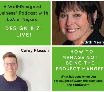 264: Design Biz Live: How to Manage Not Being the Project Manager
