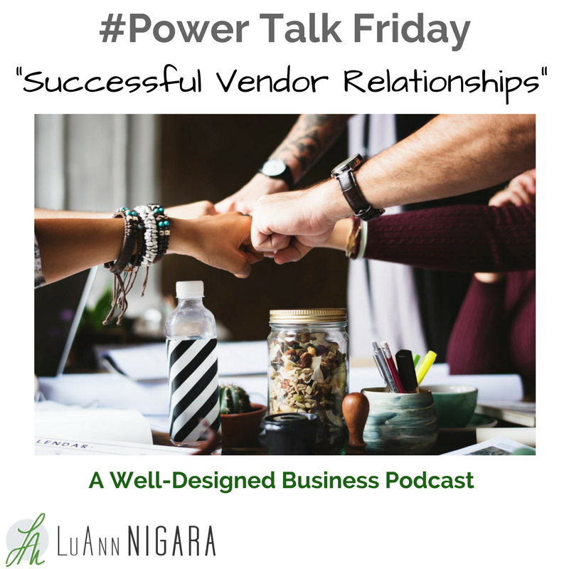 295: Successful Relationships With Vendors
