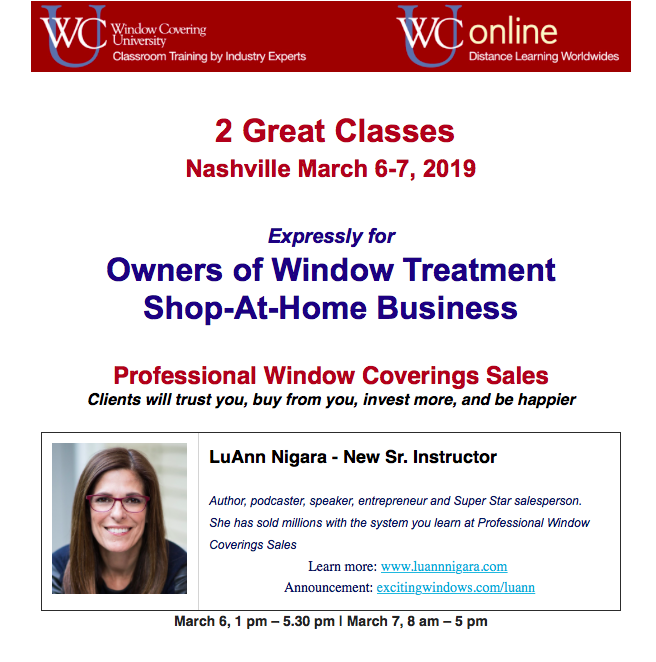 Exciting Windows: How To Sell Window Treatments