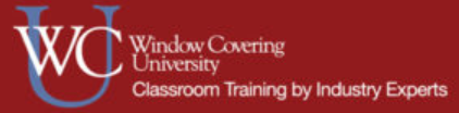Professional Window Coverings Sales Training
