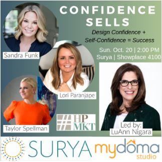 Confidence Sells: Design Confidence + Self-Confidence = Success