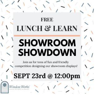 Window Works Lunch & Learn: Showroom Showdown