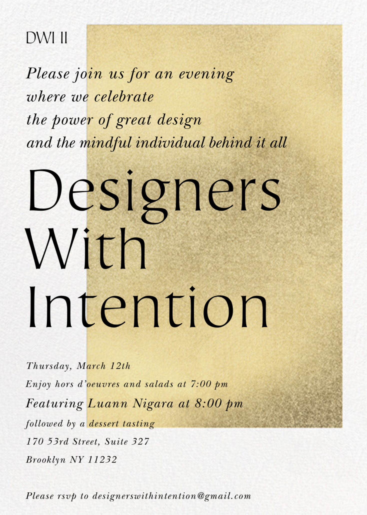 Designers With Intention